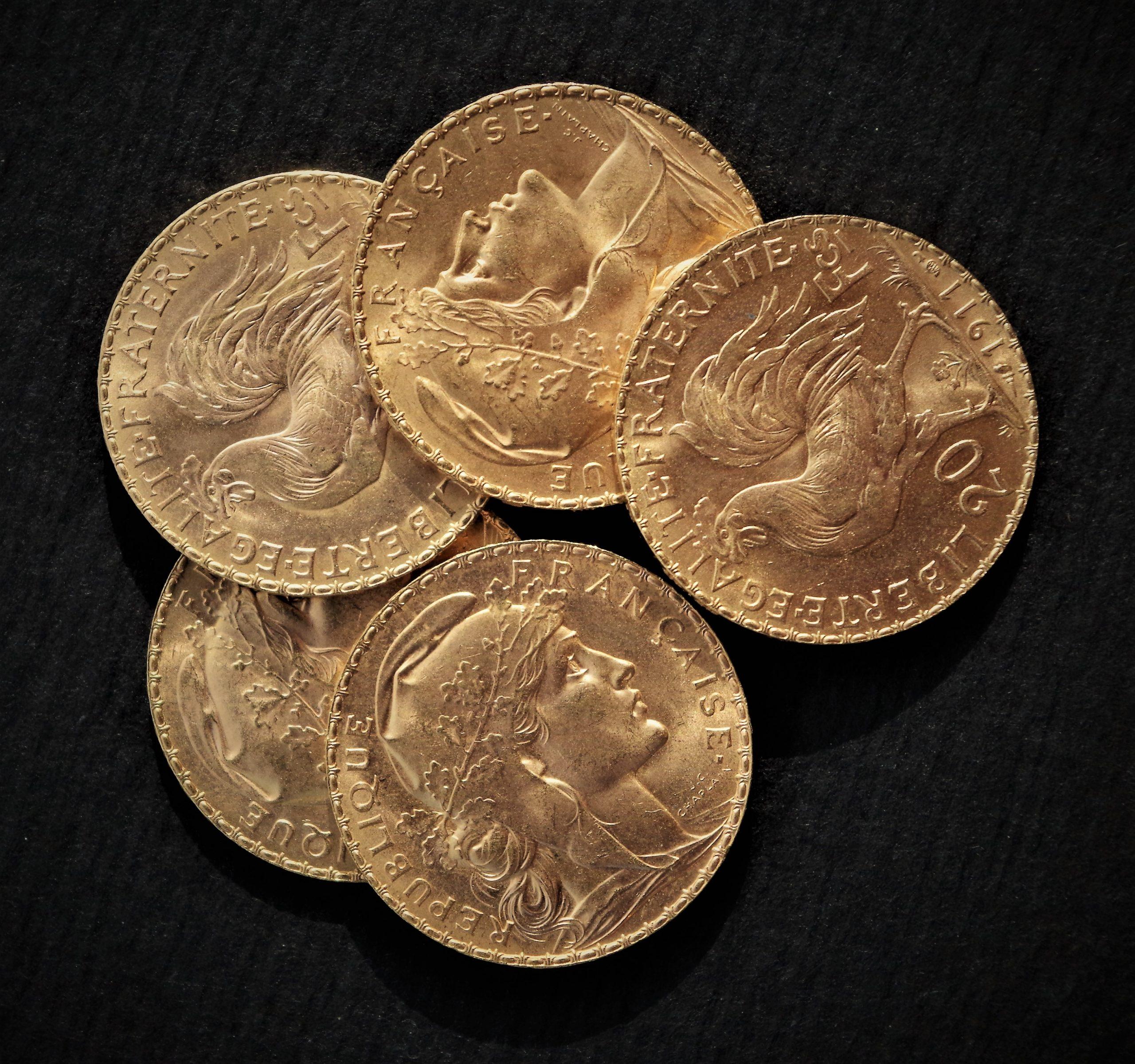 Rachat de pièces de 20 Francs OR Coq Marianne